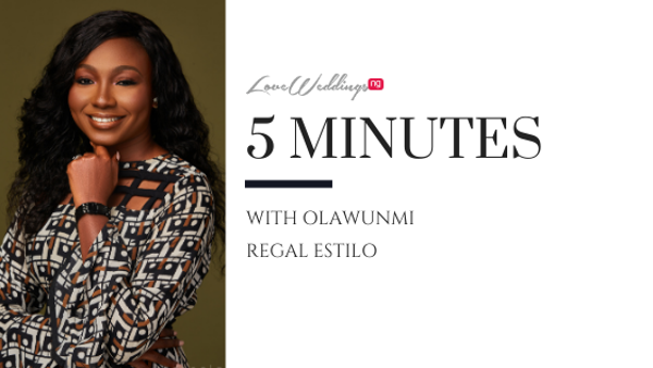 Meet Olawunmi, the accountant & bridal stylist extraordinaire at Regal Estilo