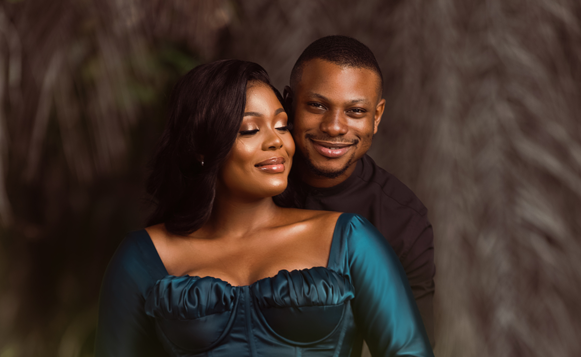 Eniola & James' love started on Twitter and now they're here | #EJeverafter