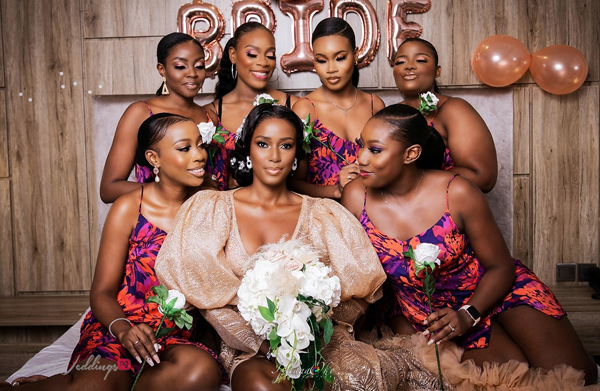 Arhome and her bridesmaids will get you excited | #02gether21