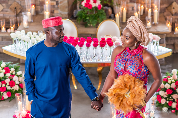 This elegant traditional styled shoot is everything African & more