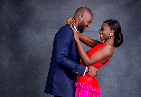 Soladiti & Femi's #AThreeFoldCord love story will make you smile