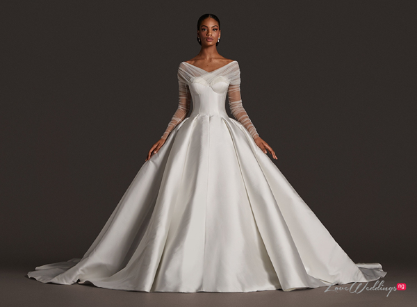 You have to see Alonuko's 'Freedom' Bridal Collection