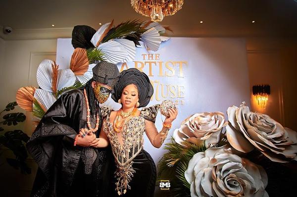 Toyin Lawani & Segun Adebayo's traditional wedding, Roju & more wedding news